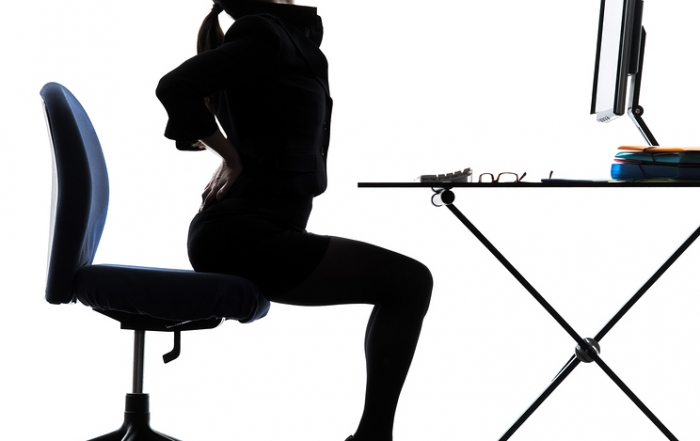 Sitting and 5 exercises to help