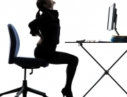Sitting-business-woman-sitting-bac-45743341